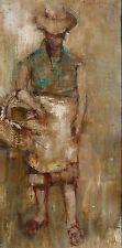 Michel DE GALLARD (1921-2007) HsT de 1960 Jeune Peinture Nouvelle Ecole de Paris