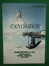 10/2005 PUB DRONE SCHIEBEL CAMCOPTER S-100 UAV UNMANNED AERIAL VEHICLE SYSTEM AD