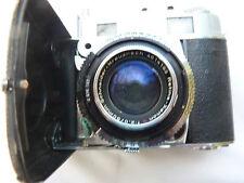 Kodak Retina IIIc, 50/f2 Schneider XENON,  incl. bottom part of leather case