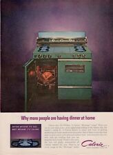 1962 Caloric 'Heritage' Stove Double-Oven Appliance PRINT AD