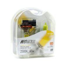 Nokya H9 Yellow Bulbs Headlight Foglight Pro Halogen 2500K 12v/65w