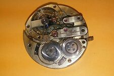 1800,s High grade JAMES DUBOIS LOCLES pocket watch movement 19 1/4 size