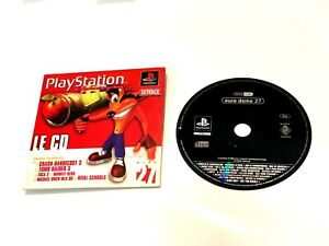 Demo playstation magazine Officiel Numero 27 : Crash bandicoot 3 ,  tomb raider