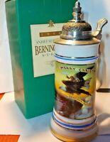 Anheuser Busch Budweiser Berninghaus Stein 1990 Original Box COA CS105