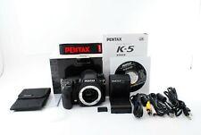 Pentax K-5 16.3MP Digital SLR Camera Black Body From Japan [ Excellent ++] #749A