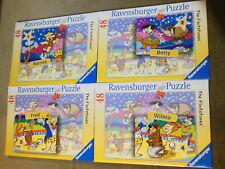 Ravensburger Puzzle /4 St. a.48 Teile ,, Die Feuersteins im Zirkus ,,Flintstones