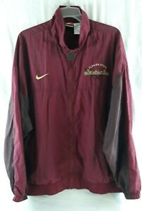 Nike Mens Florida State University FSU Seminoles Red Windbreaker Size XXL