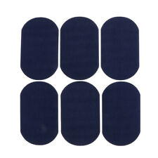 6pcs Suede Fabric Iron on Elbow Knee Patches DIY Jacket Garment Accessories