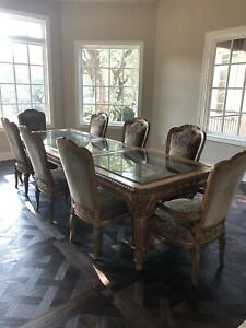 Marge Carson Dining Room Set- 8 chairs