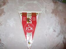 """1.FC Nürnberg Original Wimpel """"Deutscher Fussballmeister 1968"""" + """"Erfolge"""" Neu"""