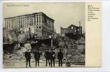 (Gt338-432) New Fairmount Hotel, Earthquake Damage, SAN FRANCISCO c1906 VG+