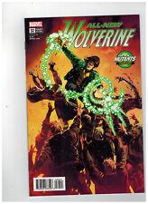 ALL-NEW WOLVERINE #32  1st Printing - New Mutants Variant   / 2018 Marvel Comics