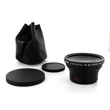 Albinar 58mm 0.43x Wide Angle Fisheye Lens for Sony Alpha NEX-5 NEX-3 NEX7 NEX5N