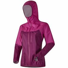 NEW Dynafit TRANSALPER Purple Womens Small 3L Shell Rain Hiking Jacket Msrp$250