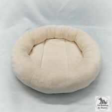 Removable Ivory Soft Cuddle Fleece Cat Snuggle Bed for Natural Paradise Cat Tree