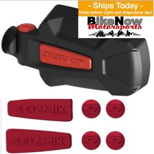 "Seizmik Pursuit Elite Red Inserts HD Aluminum Side Mirror Set 1.75"" Polaris RZR"