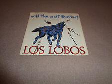 """Los Lobos – Will the Wolf Survive? - Slash 7"""" Vinyl 45 - PS 1984 - NM-"""