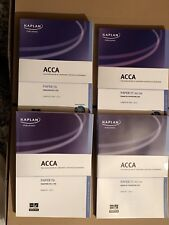 4 Book Set Kaplan ACCA Paper F6 Taxation FA11 & F7 Financial Reporting Int/UK