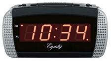 Super Extremely Extra Loud Alarm Clock For Very Heavy Sleeper Battery Backup New