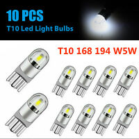 10X T10 Wedge SAMSUNG LED Light Bulbs Pure White High Power W5W 168 194 Car Lamp