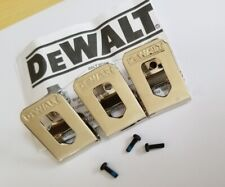 DEWALT Part Number N169778  Belt hook & screw , Pack of 3 pcs.