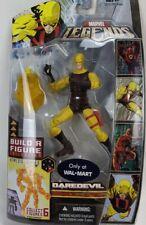 "2007 Hasbro Marvel Legends Nemesis BAF Walmart Yellow DAREDEVIL 6"" Figure MOC"