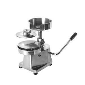 Manual Burger Hamburger Beef Press Maker Machine Heavy Duty NonStick 130mm UK