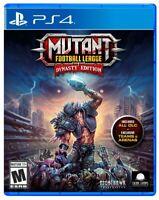 Mutant Football League Dynasty Edition [Sony PlayStation 4 Sports Bonus DLC] NEW