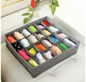 Organizer für Socken Unterwäsche Krawatten Gürtel Aufbewahrungsbox Schubladen