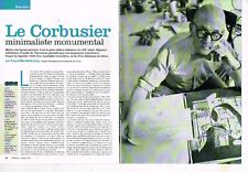 A- Coupure de Presse Clipping 2004 (6 pages) Le Corbusier