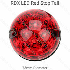 RDX LED Posteriore Stop/Tail Light/Lampada Landrover Defender 90/110 SERIE 73mm 12v 24v