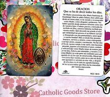 Oracion - Que se ha de decir todos los Dias - Spanish - Plastic stock Holy Card