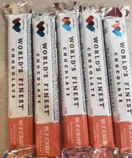 World's Finest Chocolate Bars  W.F.CRISP 1.15oz/32g (10 pcs)