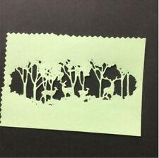Stanzschablone Wald Baum Elch Weihnachten Hochzeit Oster Karte Album Deko DIY