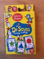 Dr. Seuss Flash Cards Color and Shapes Preschool Learning