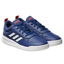adidas Kids' Big Kids Boys Tensaur Court Shoes Navy Blue White