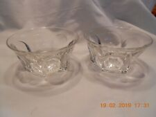 Pair Colonial Finger Jelly Bowls