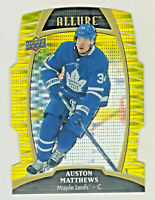 2019-20 Upper Deck Allure YELLOW TAXI DIE CUT AUSTON MATTHEWS Maple Leafs RETAIL
