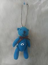10 PCS SHYARURU PALETTE JAPAN TEDDY BEAR KEY HOLDER # 6