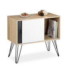 Sideboard Retro Design aus Holz mit 4 Metallbeinen 60er Kommode Beistellschrank