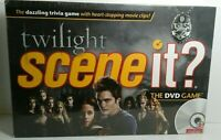 Scene It Twilight Saga Deluxe Edition DVD Board Game Trivia NEW