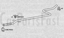 Exhaust Middle Pipe Citroen C2 1.4 Diesel Van 02/2005 to 03/2010