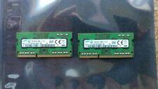 Samsung 8GB (2x4GB) 1Rx8 PC3L-12800S DDR3-1600 204pin SODIMM RAM Laptop Memory