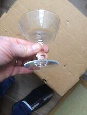 ancien verre à vin flûte à champagne cristal BACCARAT crystal