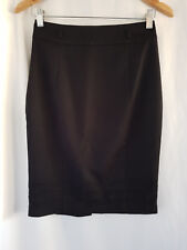REVIEW, SIZE 6, BLACK, CAREER PENCIL SKIRT