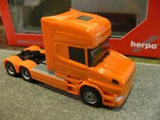 1/87 Herpa Scania Hauber Topline TRATTORE ARANCIO 151726-006
