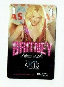 Planet Hollywood Britney Spears Room KEY  Las Vegas Casino Hotel - Piece of Me