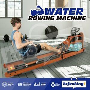 GENKI Water Rowing Machine Indoor Gym Fitness Workout Rower Exercise Equipment