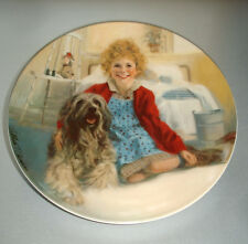 Little Orphan Annie & Sandy Collector Plate 1st Issue Edwin Knowles Certificate