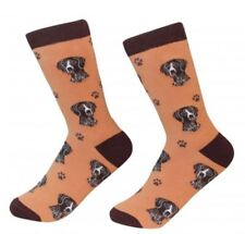 German Shorthaired Pointer Socks Unisex Dog Cotton/Poly One size fits most